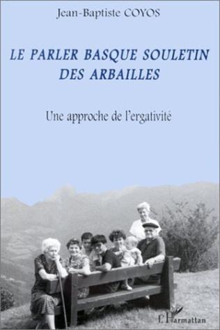 Couverture LE PARLER BASQUE SOULETIN DES ARBAILLES