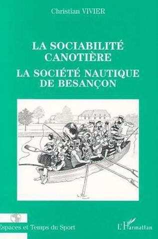 Couverture LA SOCIABILITÉ CANOTIÈRE