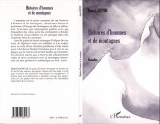 Couverture HISTOIRES D'HOMMES ET DE MONTAGNES