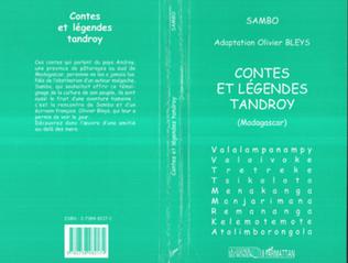 Couverture CONTES ET LÉGENDES TANDROY (Madagascar)