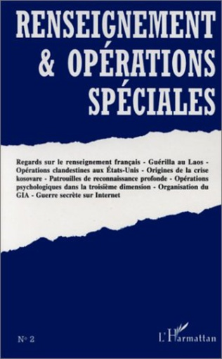 Couverture RENSEIGNEMENT ET OPERATIONS SPECIALES N°2