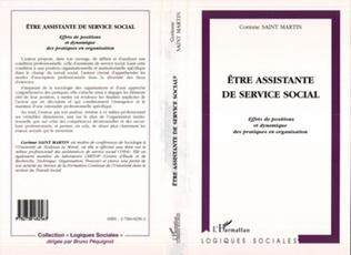 Couverture ETRE ASSISTANTE DE SERVICE SOCIAL