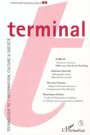 Couverture TERMINAL N° 79