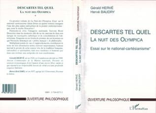 Couverture DESCARTES TEL QUEL
