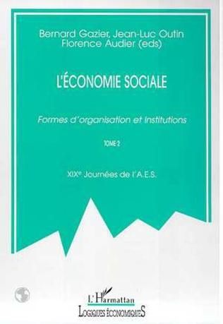 Couverture L'ECONOMIE SOCIALE