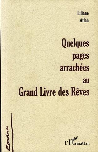 Couverture QUELQUES PAGES ARRACHÉES AU GRAND LIVRE DES RÊVES