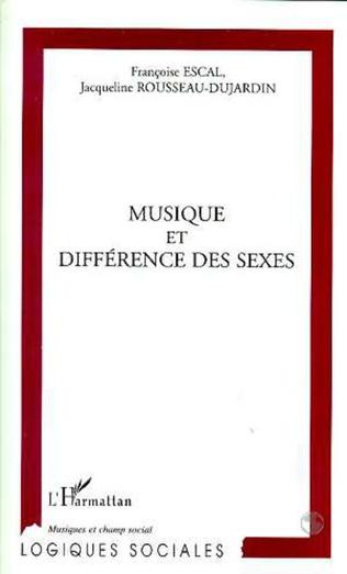 Couverture MUSIQUE ET DIFFERENCE DES SEXES