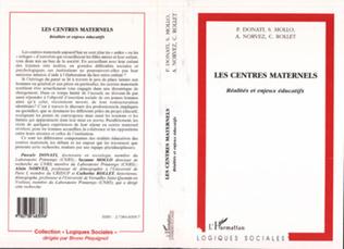 Couverture LES CENTRES MATERNELS