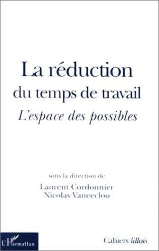 Couverture LA RÉDUCTION DU TEMPS DE TRAVAIL