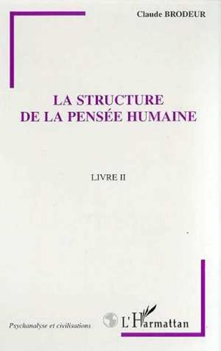 Couverture LA STRUCTURE DE LA PENSEE HUMAINE