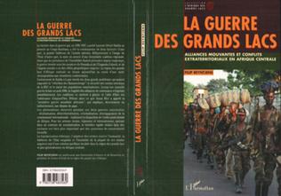 Couverture LA GUERRE DES GRANDS LACS