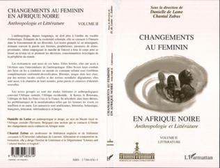 Couverture CHANGEMENTS AU FEMININ EN AFRIQUE NOIRE