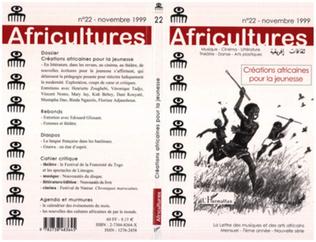 Couverture Créations africaines pour la jeunesse