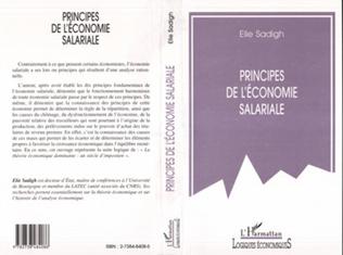Couverture Principes de l'économie salariale