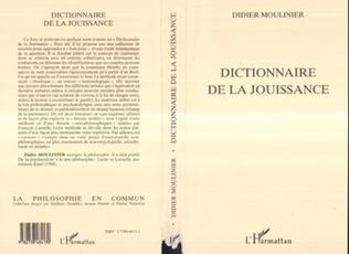 Couverture DICTIONNAIRE DE LA JOUISSANCE
