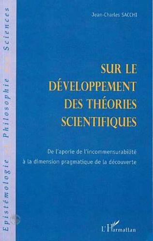 Couverture SUR LE DEVELOPPEMENT DES THEORIES SCIENTIFIQUES