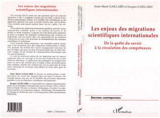 Couverture LES ENJEUX DES MIGRATIONS SCIENTIFIQUES INTERNATIONALES
