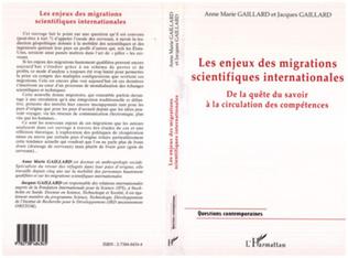 Couverture LES ENJEUX DES MIGRATIONS SCIENTIFIQUES INTERNATIONALES