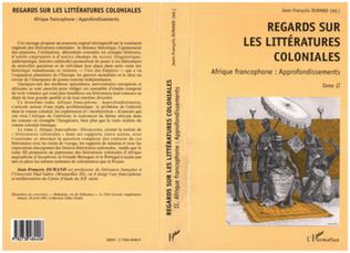 Couverture REGARDS SUR LES LITTERATURES COLONIALES