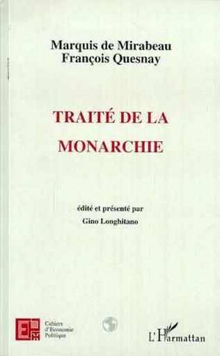 Couverture TRAITÉ DE LA MONARCHIE