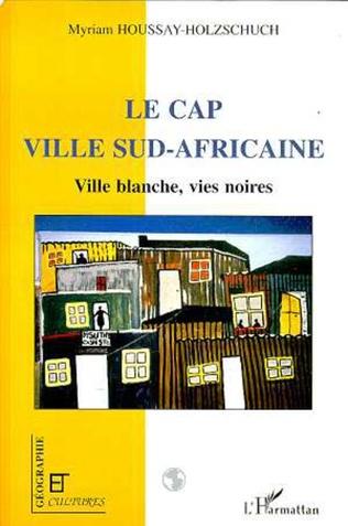 Couverture LE CAP VILLE SUD-AFRICAINE