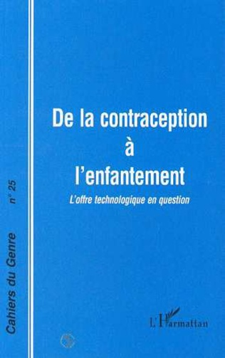 Couverture CONTRACEPTION (DE LA) A L'ENFANTEMENT