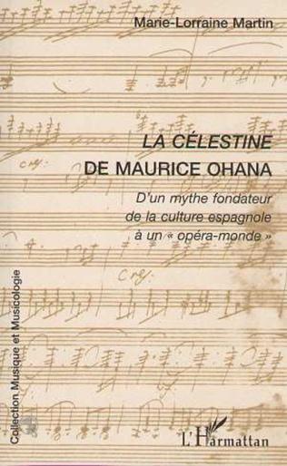 Couverture LA CÉLESTINE DE MAURICE OHANA