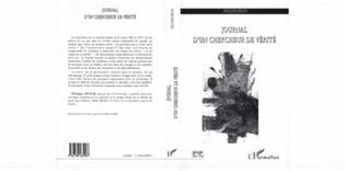 Couverture JOURNAL D'UN CHERCHEUR DE VERITE