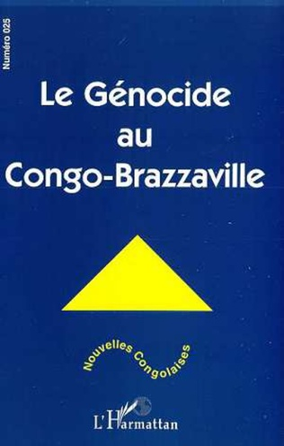 Couverture LE GENOCIDE AU CONGO-BRAZZAVILLE