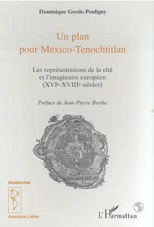 Couverture Un plan pour Mexico-Tenochtitlan