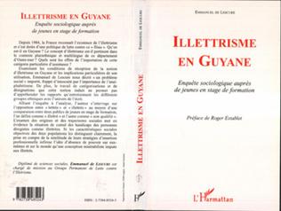 Couverture ILLETTRISME EN GUYANE