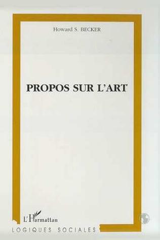 Couverture PROPOS SUR L'ART