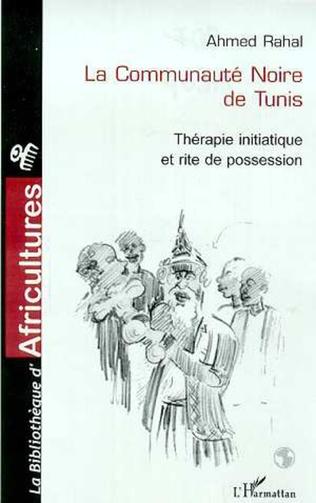 Couverture La communauté noire de Tunis