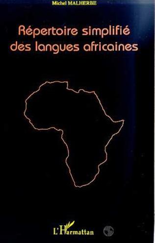 Couverture REPERTOIRE SIMPLIFIE DES LANGUES AFRICAINES