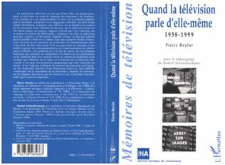 Couverture QUAND LA TELEVISION PARLE D'ELLE-MEME