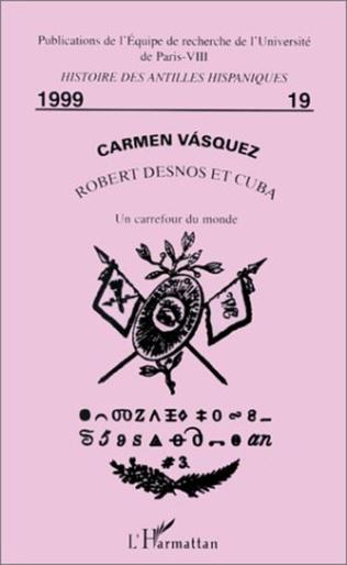 Couverture ROBERT DESNOS ET CUBA