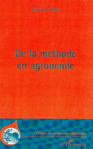Couverture METHODE (DE LA) EN AGRONOMIE