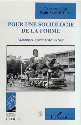 Couverture POUR UNE SOCIOLOGIE DE LA FORME