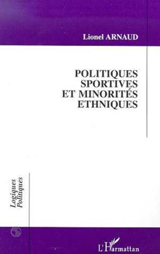 Couverture POLITIQUES SPORTIVES ET MINORITES ETHNIQUES