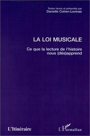 Couverture LA LOI MUSICALE