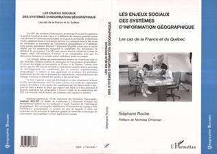 Couverture LES ENJEUX SOCIAUX DES SYSTEMES D'INFORMATION GEOGRAPHIQUE