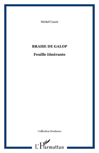 Couverture BRAISE DE GALOP