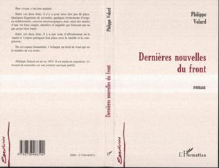 Couverture DERNIERES NOUVELLES DU FRONT