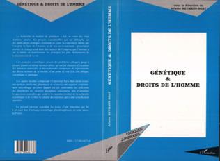 Couverture GENETIQUE ET DROITS DE L'HOMME