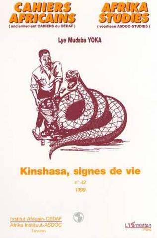 Couverture KINSHASA, SIGNES DE VIE