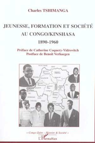 Couverture JEUNESSE, FORMATION ET SOCIÉTÉ AU CONGO/KINSHASA 1890-1960