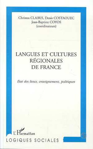 Couverture LANGUES ET CULTURES REGIONALES DE FRANCE