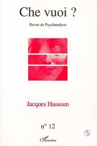 Couverture JACQUES HASSOUN