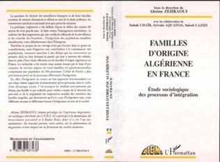 Couverture FAMILLES D'ORIGINE ALGERIENNE EN FRANCE