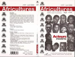 Couverture Acteurs noirs